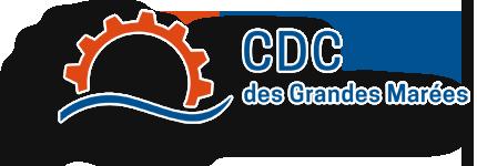 CDC des Grandes Marées (logo ombrage)